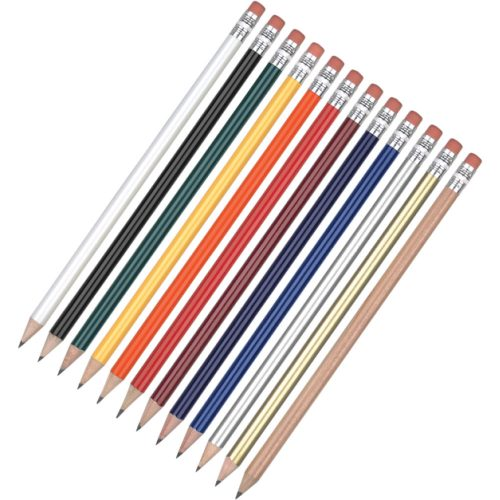 WE Wooden Printed Pencils