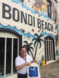 #Leaderbagontour at Bondi Beach, Sydney