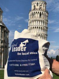 Still touring, Pisa, Italy May 2019
