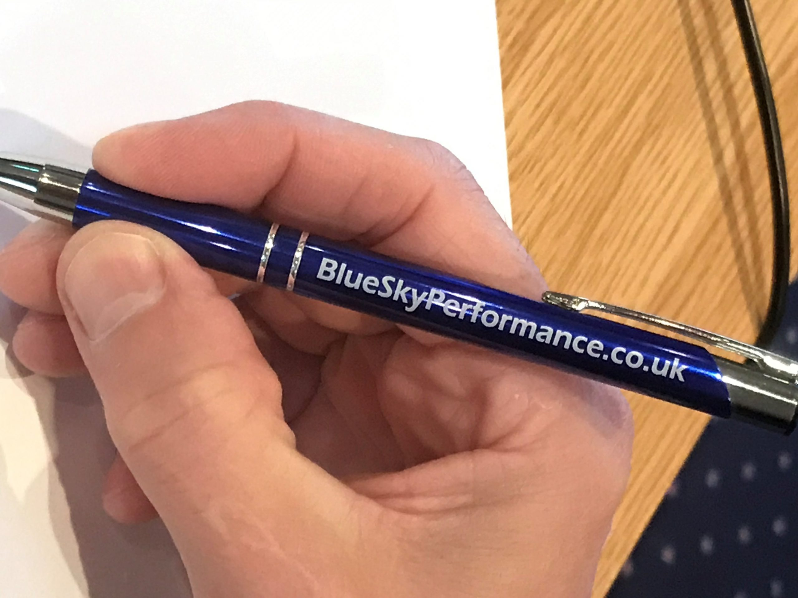 Blue Sky Performance Salina Soft Touch Stylus Ballpen