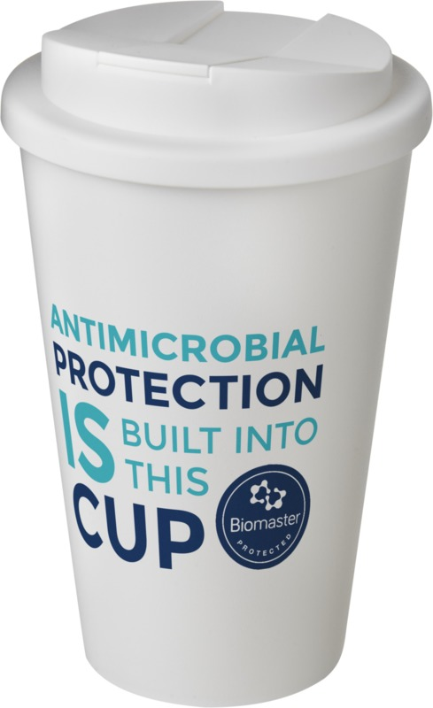 Americano-Pure-Biomaster-Travel-Mug with spill proof lid