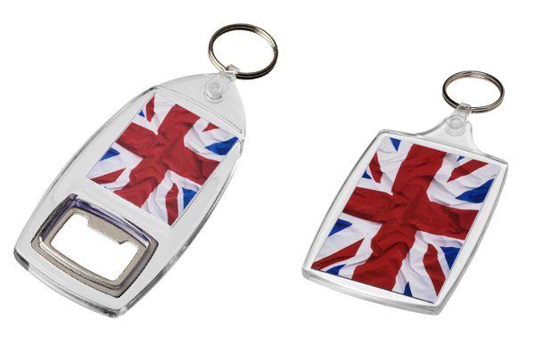 UK manufactured acrylic keyrings