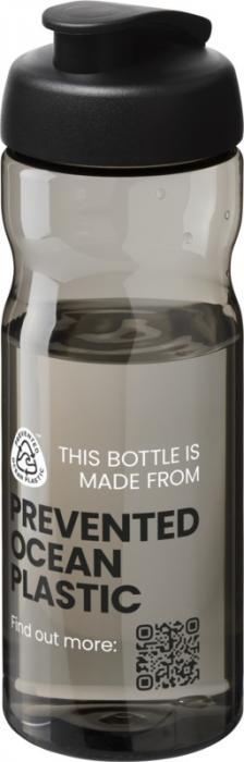 H2O Eco 650 ml flip lid sport bottle