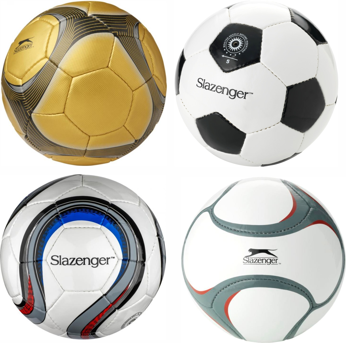 Slazenger Promotional Match Footballs as prizes