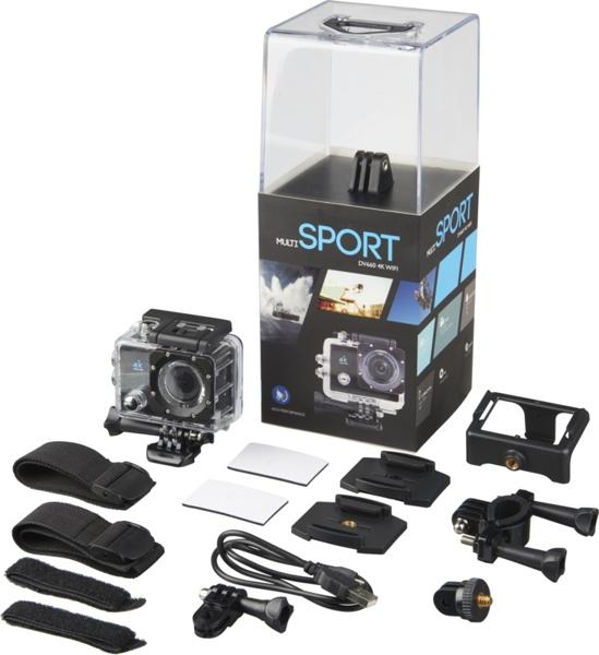 Prixton Action Camera 4K kit and box