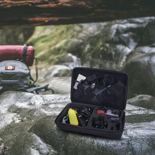 Prixton Kit610 action camera accessories in action